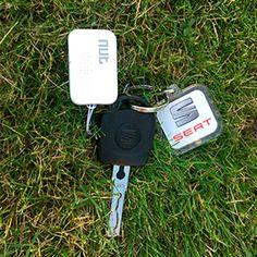 Nut Mini Bluetooth trackertil din telefon,så du altid kan finde dine forsvundne nøgler, pungeller børn