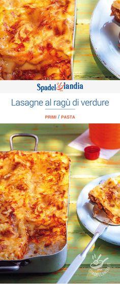 Lasagne%20al%20rag%F9%20di%20verdure Macaroni And Cheese, Ethnic Recipes, Food, Lasagna, Essen, Mac And Cheese, Yemek, Meals