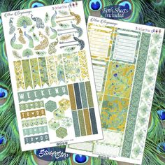 New Beginnings Layout Planner Stickers