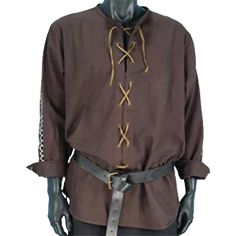 medieval clothing men tunic - Google Search Maybe just for random commoner.  I like it.
