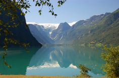 Norwegian fjord, where I learned how to swim at the age of 5