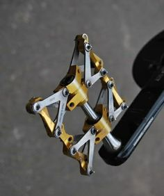 Awesome bike pedal made with a cnc