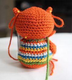 Amigurumi Baby Owl Free Pattern - Amigurumi X Owl Crochet Pattern Free, Crochet Owls, Crochet Diy, Crochet Patterns Amigurumi, Crochet Animals, Crochet Crafts, Crochet Projects, Free Pattern, Owl Doorstop