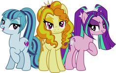 my little pony rainbow rocks the dazzlings - Google Search