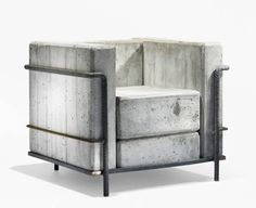 Concrete Chair If you like this check out the one of a kind design elements and sculptures on my etsy page https://www.etsy.com/shop/SalehDesigns?ref=si_shop