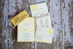 wedding stationary with Lifestyle Letterpress