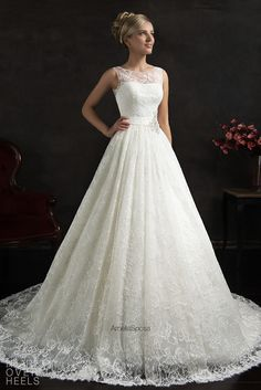 Amelia Sposa 2015 Wedding Dress Style: Maritza | Heart Over Heels #bridal #designer