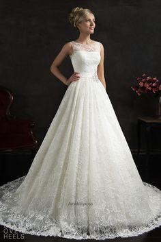 Amelia Sposa 2015 Wedding Dress Style: Maritza | Heart Over Heels #bridal…