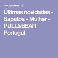 Últimas novidades - Sapatos - Mulher - PULL&BEAR Portugal