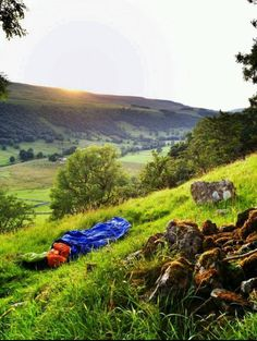 Ditch the tent for a hill top bivvy.