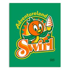March Magic Poster - Adventureland Swirl - Walt Disney World - Limited Release Disney Crafts, Disney Fun, Disney Parks, Walt Disney World, Disney Stuff, Orange Bird, Peter Pan Disney, Park Art, Disney Posters