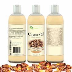 Castor Oil 16 oz - Carrier Oil, Stimulates Hair Growth, Conditions Hair, Heals I STIMULATES HAIR GROWTH: Castor Oil is richy in omega fatty acid and is also anti-fungal and anti-bacterial. It is a great massage oil for the scalp and serves a variety of purposes such as moisturizing the scalp, treating dandruff, and stimulating hair growth. FADES BLEMISHES: Castor oil reduces the appearance of blemishes scars. The fatty acids in the oil penetrate quickly into the skin and promote the growth…