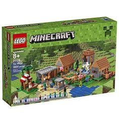 "Lego Minecraft ""The Village"" 21128 Retired. Minecraft fans will love joining forces with Alex in the LEGO Minecraft The Village set. This set makes a standout gift for LEGO Minecraft collectors and Minecraft fans. Lego Minecraft, Minecraft Party, Minecraft Houses, Minecraft Stuff, Minecraft Gifts, Mine Minecraft, Minecraft Creations, Legos, Arma Nerf"