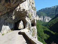 Route des grands goulets, Vercors - France