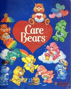 Care Bears Sticker Book ~ used to have one when i was 9 yrs.