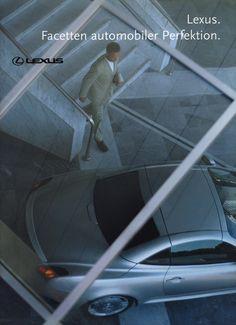 https://flic.kr/p/DsNcFf | Lexus models - Facetten automobiler Perfektion. 2001 | front cover car brochure by worldtravellib World Travel library