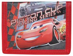 Disney Cars 3 Lightning McQueen Bi-Fold Boys Wallet