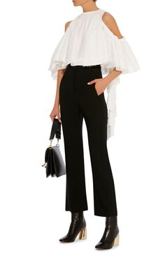 Baby Cropped Ruffle Top by ELLERY Now Available on Moda Operandi
