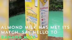 Banana Milk is the latest must-try milk alternative drink.