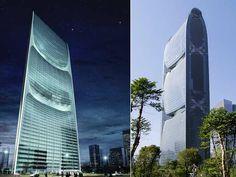Pearl River Tower, arranha-céu de uso comercial ecologicamente correto em Guangzhou, na China