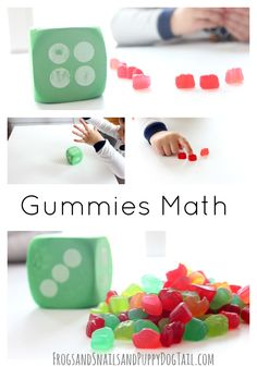 Gummies math game for kids