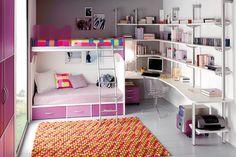 Image result for dormitorios juveniles para niñas grandes