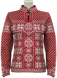 Norwegian sweater, I have one very similar, definitely keeps me warm!