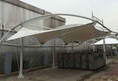 Tenda Membrane taman publik  #TendaMembrane http://www.putracanopy.com/tenda-membrane/