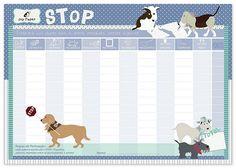 Jogo de Stop -Dogs  para a Joy Paper Papelaria   http://www.joypaper.com.br