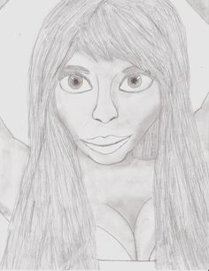 coloring pages nicki minaj