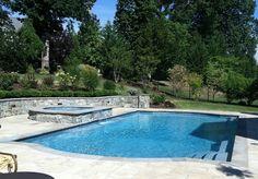 Freeform Pools - Town and Country Pools : Custom Pool Builders : Pool Designer : Maryland : Northern Virginia : Washington DC : MD