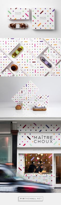 French patisserie chain Maitre Choux by MONOGRAM PD