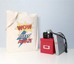 Tote bag Cotton tote bag Quote tote bag Cotton by BearAndRobot, £8.50
