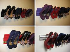 Instruction on how to make your own High Heel Shoe Rack from Molding!