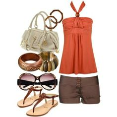 cute summer outfit (not the sandals)