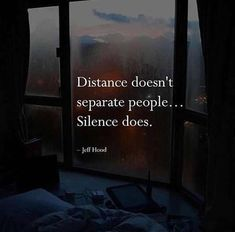 Distance doesnt separate people..