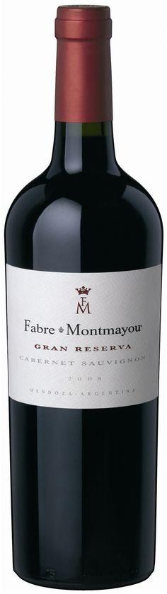 """""""Gran Reserva"""" Cabernet Sauvignon 2012 - Bodega Fabre Montmayou, Luján de Cuyo, Mendoza------------------Terroir: Vistalba-----------Crianza: 12 meses en barricas de roble francés"""