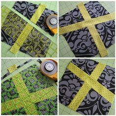 An easy and forgiving quilt block! The possibilities are endless with thousands of fabrics to choose from at the Fabric Shack at http://www.fabricshack.com/cgi-bin/Store/store.cgi ~ Wonky Cross Block Sew-Along | Sew Mama Sew |