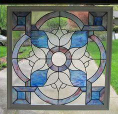 Beautiful Stained Glass Window by GlassHouseArt2 on Etsy, $825.00