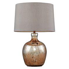 John Lewis Tabitha Copper Table Lamp Online At Johnlewis