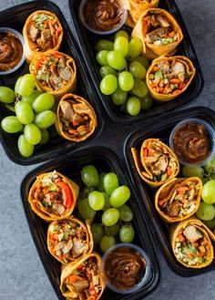 A healthy and tasty grab and go breakfast! Not only is it healthy, but it is easy, flavorful and meal prep friendly Meal Prep Ideas + Keto Recipes for Fat Loss & Muscle Building Lunch Snacks, Healthy Snacks, Healthy Eating, Healthy Recipes, Keto Recipes, Snack Box, Cheap Recipes, Tofu Recipes, Healthy Meal Prep Lunches