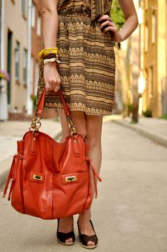 perfect auburn bag (: