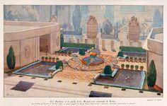 Pavillon De La Place Clichy Exposition Internationale Des