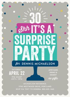 75th birthday invitations 50 gorgeous 75th party invites fun birthday surprise party invitations are a delightful way to remind your guests to keep the party a secret stopboris Choice Image