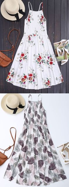 Up to 80% OFF! Floral A-Line Smocked Midi Dress. Zaful,Maxi dresses,Bohemian dresses,Long sleeve dresses,Casual dresses,Off the shoulder dresses,Prom dresses,Cocktail dresses,Wedding dresses,Midi dresses,Mini dresse, Fall fashion, Fall outfits, Women fashion, Wedding dresses. @zafulbikini Extra 10% OFF Code:ZF2017