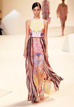 ELIE SAAB Ready-to-Wear Spring Summer 2013 Fashion Show