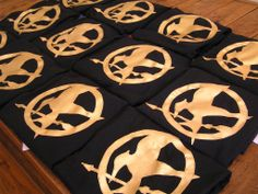 hunger games party tshirt