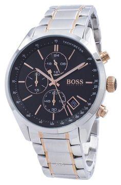 90d78b12d1e335 Hugo Boss Grand Prix Chronograph Tachymeter Quartz 1513473 Men's Watch  Sport Watches, Watches For Men