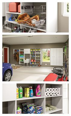 Tame the clutter in your garage with totally customizable NeuSpace storage. Organize your sporting goods, car supplies, and seasonal items. You design the made-to-order storage to fit your space and your lifestyle. Check out our online design tool to see how easy it is!