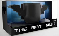 Thumbsup 1194 Bat Mug Céramique Gotham, Mugs Cafe, Cocoa Drink, Bitten, Batman Birthday, Geek Gadgets, Novelty Items, Nerd Geek, Drip Coffee Maker